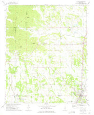 Baldwyn Mississippi Historical topographic map, 1:24000 scale, 7.5 X 7.5 Minute, Year 1973