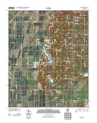 Banks Mississippi Historical topographic map, 1:24000 scale, 7.5 X 7.5 Minute, Year 2012