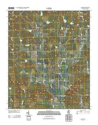 Banner Mississippi Historical topographic map, 1:24000 scale, 7.5 X 7.5 Minute, Year 2012