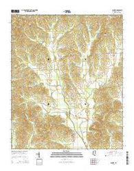 Banner Mississippi Current topographic map, 1:24000 scale, 7.5 X 7.5 Minute, Year 2015