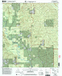 Barbara Mississippi Historical topographic map, 1:24000 scale, 7.5 X 7.5 Minute, Year 2000