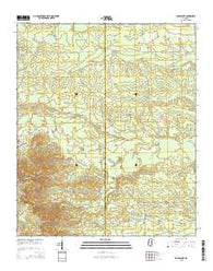 Barge Lake Mississippi Current topographic map, 1:24000 scale, 7.5 X 7.5 Minute, Year 2015
