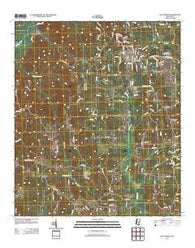 Bay Springs Mississippi Historical topographic map, 1:24000 scale, 7.5 X 7.5 Minute, Year 2012