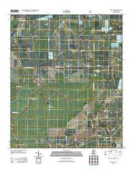 Bayland Mississippi Historical topographic map, 1:24000 scale, 7.5 X 7.5 Minute, Year 2012