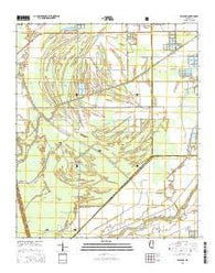Bayland Mississippi Current topographic map, 1:24000 scale, 7.5 X 7.5 Minute, Year 2015