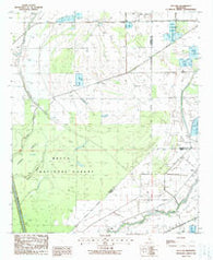 Bayland Mississippi Historical topographic map, 1:24000 scale, 7.5 X 7.5 Minute, Year 1988