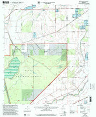 Bayland Mississippi Historical topographic map, 1:24000 scale, 7.5 X 7.5 Minute, Year 2000