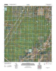 Bayland SE Mississippi Historical topographic map, 1:24000 scale, 7.5 X 7.5 Minute, Year 2012