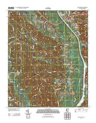 Beans Ferry Mississippi Historical topographic map, 1:24000 scale, 7.5 X 7.5 Minute, Year 2012