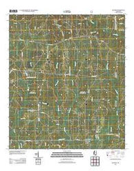 Beatrice Mississippi Historical topographic map, 1:24000 scale, 7.5 X 7.5 Minute, Year 2012