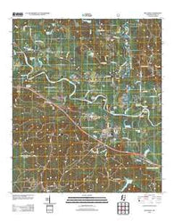 Beaumont Mississippi Historical topographic map, 1:24000 scale, 7.5 X 7.5 Minute, Year 2012
