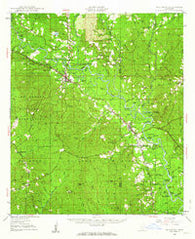Beaumont Mississippi Historical topographic map, 1:62500 scale, 15 X 15 Minute, Year 1947