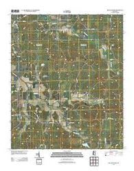 Bellefontaine Mississippi Historical topographic map, 1:24000 scale, 7.5 X 7.5 Minute, Year 2012