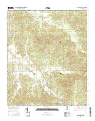 Bellefontaine Mississippi Current topographic map, 1:24000 scale, 7.5 X 7.5 Minute, Year 2015