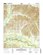 Bethlehem Mississippi Current topographic map, 1:24000 scale, 7.5 X 7.5 Minute, Year 2015 from Mississippi Map Store