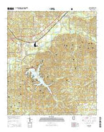 Bude Mississippi Current topographic map, 1:24000 scale, 7.5 X 7.5 Minute, Year 2015 from Mississippi Map Store