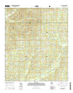 Busy Corner Mississippi Current topographic map, 1:24000 scale, 7.5 X 7.5 Minute, Year 2015 from Mississippi Map Store