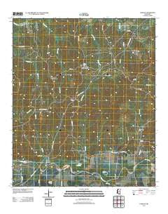 Carlisle Mississippi Historical topographic map, 1:24000 scale, 7.5 X 7.5 Minute, Year 2012