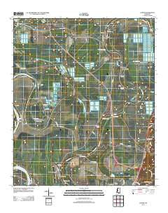 Carter Mississippi Historical topographic map, 1:24000 scale, 7.5 X 7.5 Minute, Year 2012