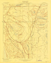 Coahoma Mississippi Historical topographic map, 1:31680 scale, 7.5 X 7.5 Minute, Year 1910