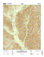 Cohay Mississippi Current topographic map, 1:24000 scale, 7.5 X 7.5 Minute, Year 2015 from Mississippi Map Store