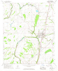 Drew Mississippi Historical topographic map, 1:24000 scale, 7.5 X 7.5 Minute, Year 1966