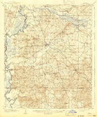 Florence Mississippi Historical topographic map, 1:62500 scale, 15 X 15 Minute, Year 1908