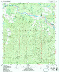 Garden City Mississippi Historical topographic map, 1:24000 scale, 7.5 X 7.5 Minute, Year 1988