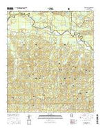 Garden City Mississippi Current topographic map, 1:24000 scale, 7.5 X 7.5 Minute, Year 2015 from Mississippi Map Store