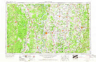 Greenwood Mississippi Historical topographic map, 1:250000 scale, 1 X 2 Degree, Year 1953