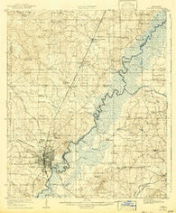 Jackson Mississippi Historical topographic map, 1:62500 scale, 15 X 15 Minute, Year 1908