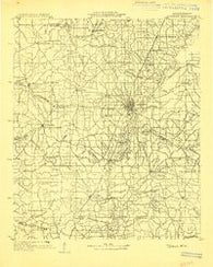 Jackson Mississippi Historical topographic map, 1:125000 scale, 30 X 30 Minute, Year 1903