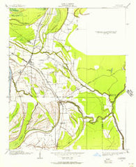 Lula Mississippi Historical topographic map, 1:24000 scale, 7.5 X 7.5 Minute, Year 1908