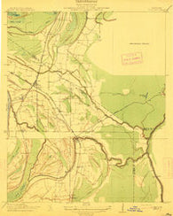 Lula Mississippi Historical topographic map, 1:31680 scale, 7.5 X 7.5 Minute, Year 1912