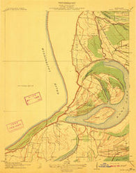 Moon Lake Mississippi Historical topographic map, 1:31680 scale, 7.5 X 7.5 Minute, Year 1912
