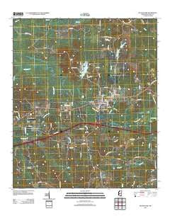 Pelahatchie Mississippi Historical topographic map, 1:24000 scale, 7.5 X 7.5 Minute, Year 2012