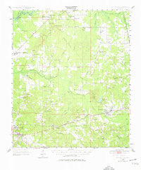 Pelahatchie Mississippi Historical topographic map, 1:62500 scale, 15 X 15 Minute, Year 1950
