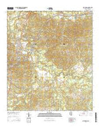 Port Gibson Mississippi Current topographic map, 1:24000 scale, 7.5 X 7.5 Minute, Year 2015 from Mississippi Map Store