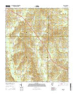 Post Mississippi Current topographic map, 1:24000 scale, 7.5 X 7.5 Minute, Year 2015 from Mississippi Map Store