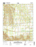 Robbs Mississippi Current topographic map, 1:24000 scale, 7.5 X 7.5 Minute, Year 2015 from Mississippi Map Store