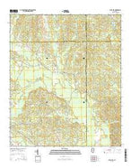 Rose Hill Mississippi Current topographic map, 1:24000 scale, 7.5 X 7.5 Minute, Year 2015 from Mississippi Map Store