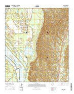 Sibley Mississippi Current topographic map, 1:24000 scale, 7.5 X 7.5 Minute, Year 2015 from Mississippi Map Store