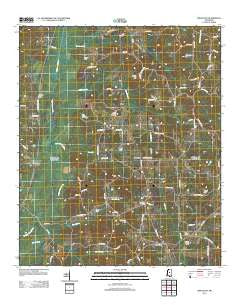 Singleton Mississippi Historical topographic map, 1:24000 scale, 7.5 X 7.5 Minute, Year 2012