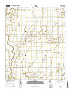 Skene Mississippi Current topographic map, 1:24000 scale, 7.5 X 7.5 Minute, Year 2015 from Mississippi Map Store