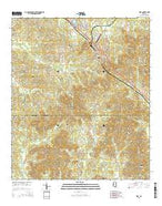 Star Mississippi Current topographic map, 1:24000 scale, 7.5 X 7.5 Minute, Year 2015 from Mississippi Map Store