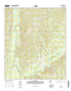 Street Mississippi Current topographic map, 1:24000 scale, 7.5 X 7.5 Minute, Year 2015 from Mississippi Map Store