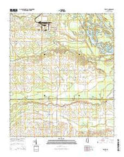 Trinity Mississippi Current topographic map, 1:24000 scale, 7.5 X 7.5 Minute, Year 2015 from Mississippi Maps Store
