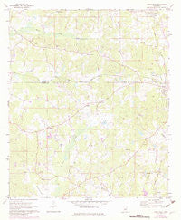 Union West Mississippi Historical topographic map, 1:24000 scale, 7.5 X 7.5 Minute, Year 1972