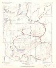 Walnut Lake Mississippi Historical topographic map, 1:24000 scale, 7.5 X 7.5 Minute, Year 1908