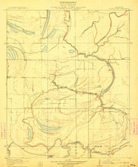 Walnut Lake Mississippi Historical topographic map, 1:31680 scale, 7.5 X 7.5 Minute, Year 1910